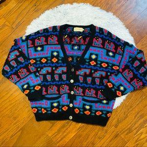 Vintage LL. Bean wool cardigan